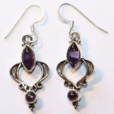 ametista orecchini pendenti argento 925 Orecchini lilla Orecchini donna ADR