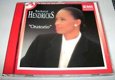 BARBARA HENDRICKS  ORATORIO   CD 12 TITRES  RARE