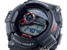 CASIO MUDMAN G-Shock G9300-1 G-9300-1 Black Tough Solar Free Ship #