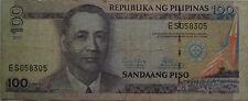 Philippines 100 Piso 2011 ES 058305