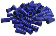4,000 WIRE CONNECTORS BLUE STRAIGHT BARREL STYLE SCREW-ON NUTS UL 4000/PACK