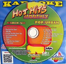 Chartbuster Karaoke Hot Hits Monthly - CB30092M CDG (March 2009)