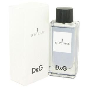 Dolce & Gabbana Le Bateleur 1 Fragrance 3.4oz Eau De Toilette MSRP $75 NIB