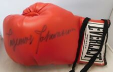 Ingemar Johansson Signed Vintage Red Everlast Boxing Glove JAS Authenticated