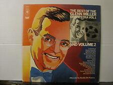 GLENN MILLER The Best of Glenn Miller Orchestra Vol 1 & Volume 2 DOUBLE VINYL LP