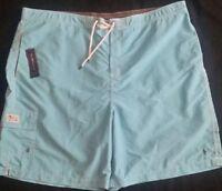 Men's POLO RALPH LAUREN Swim Trunks 3XB Blue NWT $69+ Beach Wear New NICE