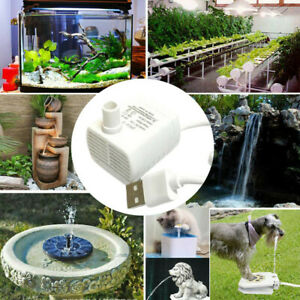 Pet Water Fountain Replacement Pump Works with Cable for Ceramic Dog and Cat
