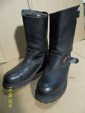 """TEXAS STEER ENGINEER BOOTS STEEL TOES 12"""" TALL MEN'S SIZE 7-1/2 7.5 NICE COND."""