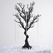 """30"""" Black MANZANITA TREE with Garlands Wedding Party CENTERPIECES Decorations"""