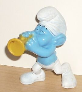 """2013 McDONALD's Harmony Smurf 3"""" Action Figure #11 Smurfs 2 Happy Meal Toy"""