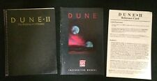 Dune Game Manuals / Macintosh Computers