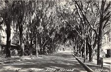 c.1940 RPPC Homes US Rte. 441 Mount Dora FL
