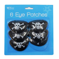Pirate Party - Pirate Eye Patches, Pack of 6