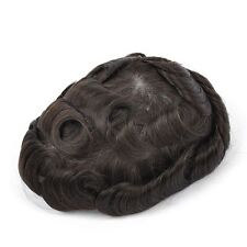 GEX Toupee Mens Hairpiece Mirage Basement Wig Human Remy Hair Replacement System 2#