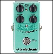 TC Electronic HyperGravity Compressor Guitar Effect Pedal Hyper Gravity