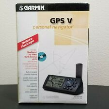 New Garmin GPS V Personal Navigator Automotive Mountable Deluxe Package