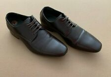 Men's Perry Ellis Portfolio Gavin Brown Dress Shoes Size 8