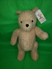 Gund UK Disney Classic Pooh Bear Golden Curly Plush 15 Inch Fully Jointed w Tags