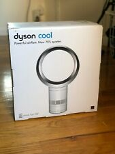 Dyson AM06 10 inch Desk Fan - White With Silver - BRAND NEW SEALED BOX