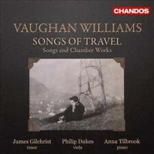 GILCHRIST/DUKES/TILBROOK - VAUGHAN WILLIAMS:SONGS NEW CD