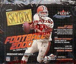 2000 Skybox Football Hobby Box