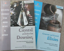 CRYSTAL Pendulum DOWSING book plus GEMSTONE & CRYSTAL ELIXIRS 2 Great Books