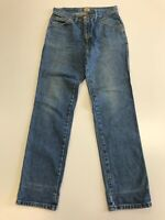 N250 MENS LEE RIDERS FADED BLUE STRAIGHT LEG DENIM JEANS UK S W30 L32