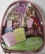 Barbie - Mochila: Vamos al cole - NUEVO