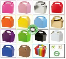Recyclable Party FOOD BOXES - Children's Loot Favour Kids Birthday Cake Gift Box