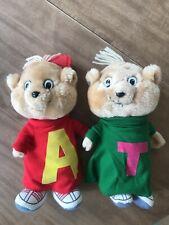 Alvin and Theodore Chipmunk Stuffed Plush