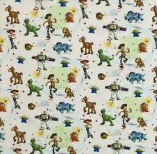 Disney Toy Story Licensed Digital Fabric 100% Craft Cotton Craft Quilting 140cm