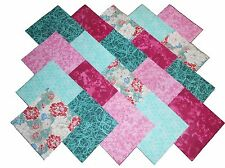 "10 10X10"" Quilting Fabric LAYER CAKE Squares BEAUTIFUL ASIAN FLORAL/BUY IT NOW!"