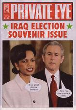 PRIVATE EYE 1125 - 4 - 17 Feb 2005 - Condoleezza Rice George W Bush - IRAQ ELECT