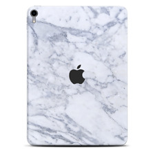 Skins Decal Wrap for Apple iPad Pro 11 2018 Grey White Standard Marble