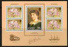 JERSEY SGMS382 1986 JERSEY LILIES  MNH