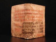 1598 Aristotle On PLANTS Scaliger Botany Marburg Medieval Manuscript Binding