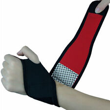 Adjustable Wrist Guard Band Brace Support Carpal Tunnel Sports Bandage Black