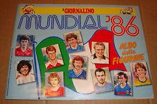 ALBUM FIGURINE MUNDIAL '86 (MESSICO 1986) COMPLETO SAN PAOLO EDIZIONI