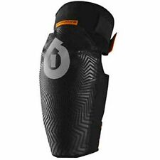 Pair Elbow Sixsixone Comp Am Bicycle Skateboard Protection Black Size L