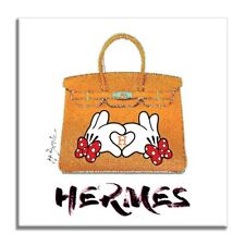 Hermes-Minnie Mouse, Original Oil, Acrylic Painting on canvas, by Dr8Love