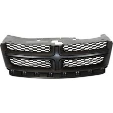 NEW UPPER GRILLE MATTE DARK GRAY WITH BLACK FOR DODGE  CH1200349