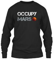 Latest Occupy Mars - Gildan Long Sleeve Tee Gildan Long Sleeve Tee T-Shirt