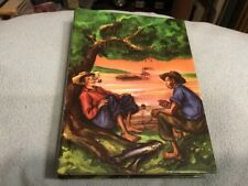 Illustrated Junior Library Adventures of Huckleberry Finn Book Boys Room Decor