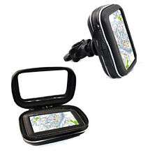 "Waterproof Motorcycle/Bike Handlebar Mount & GPS Case Bag *for 4.3"" GARMIN NUVI"