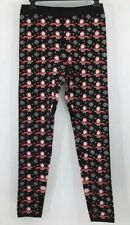 Holiday Traditions Santa Leggings Thick Women's Size Small Thick Full Length