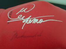 Muhammad Ali, Joe Frazier, George Foreman SIGNED BOXING GLOVE - COA