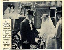 Artisti-Matrimonio Camera cantanti Hermann Gura e Annie Hummel immagine documento v.1909