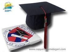 Chapeau de licence collège mortarboard The Original Grad Hat rouge