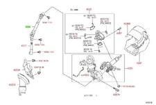 Toyota Corolla Matrix 09-13 FWD Intermediate Steering Shaft No. 2 Genuine OE OEM