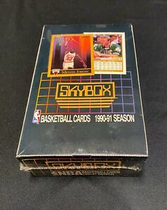 1990-91 Skybox Series 1 Basketball Factory Sealed Box 36 packs🔥 Michael Jordan
